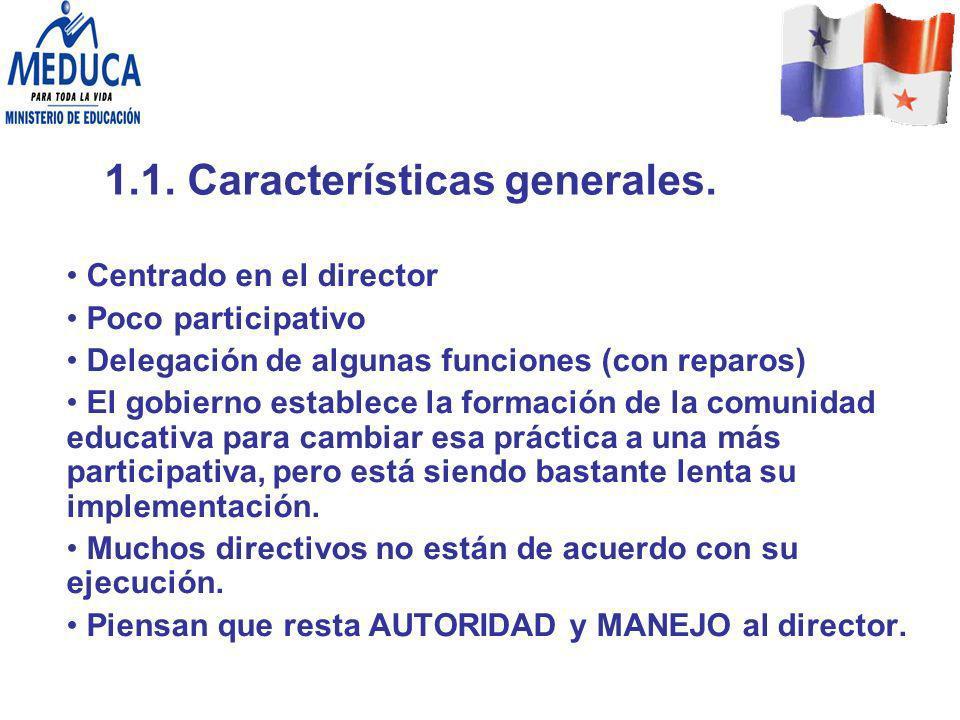 1.1. Características generales.