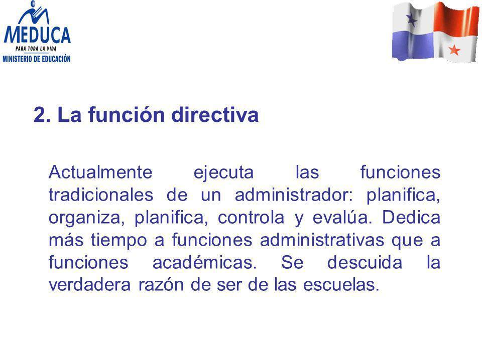 2. La función directiva