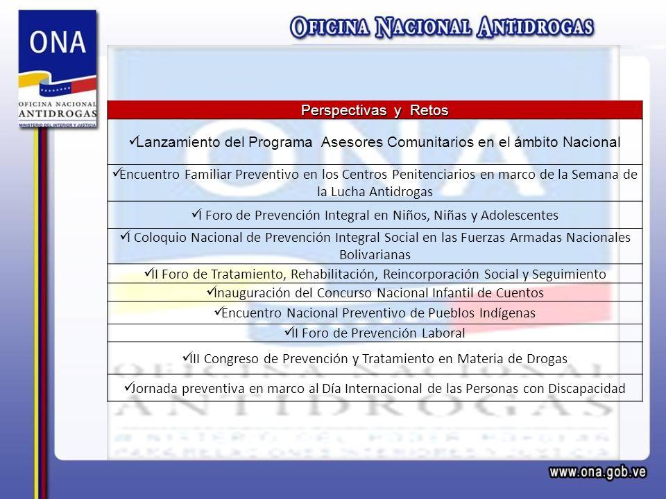 Lanzamiento del Programa Asesores Comunitarios en el ámbito Nacional