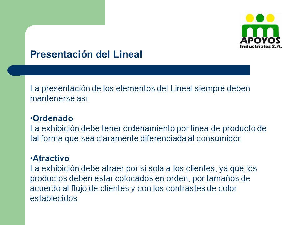 Presentación del Lineal