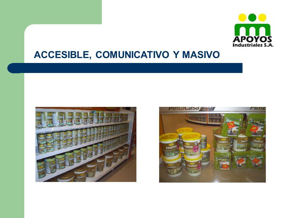 ACCESIBLE, COMUNICATIVO Y MASIVO