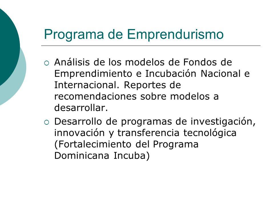 Programa de Emprendurismo