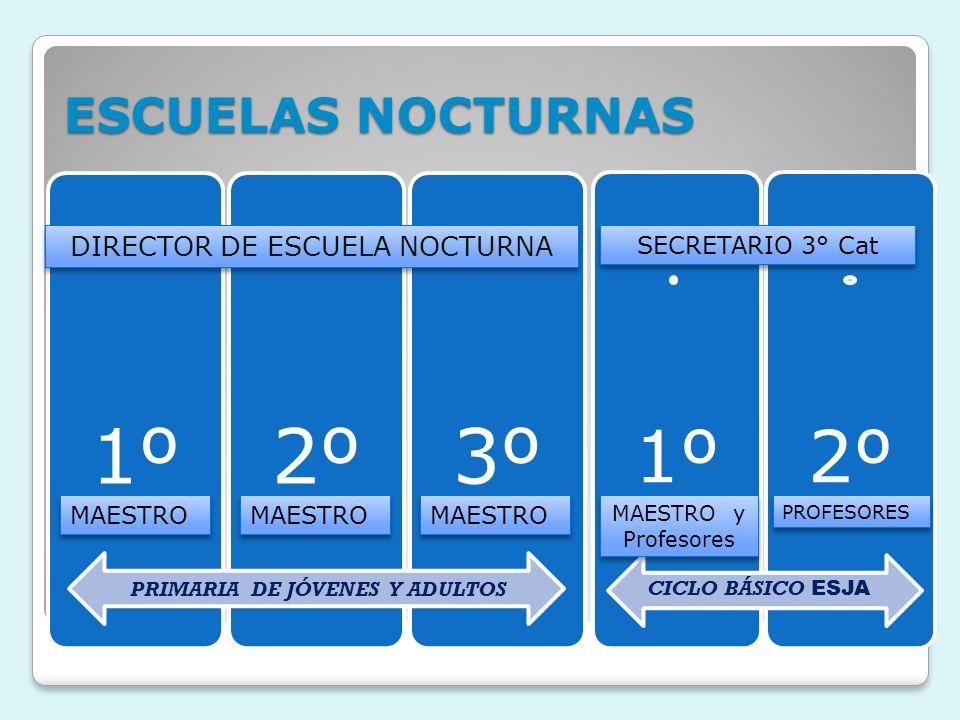 DIRECTOR DE ESCUELA NOCTURNA