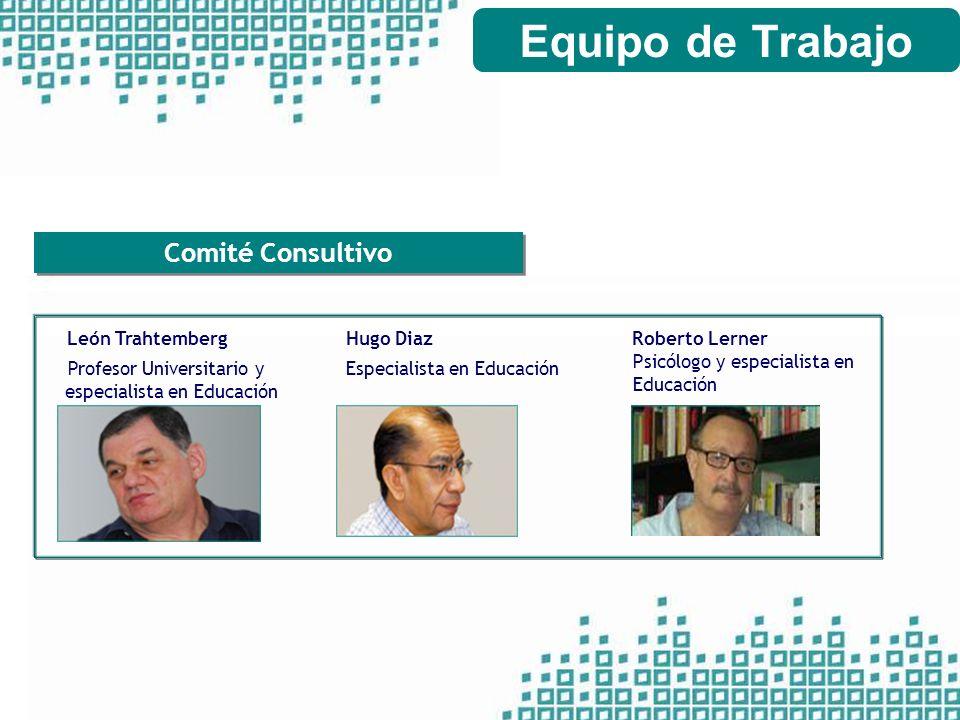 Equipo de Trabajo Comité Consultivo León Trahtemberg Hugo Diaz