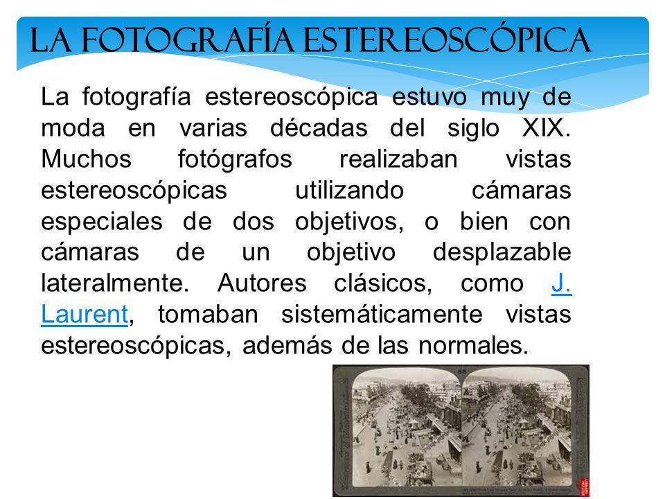 La Fotografía estereoscópica