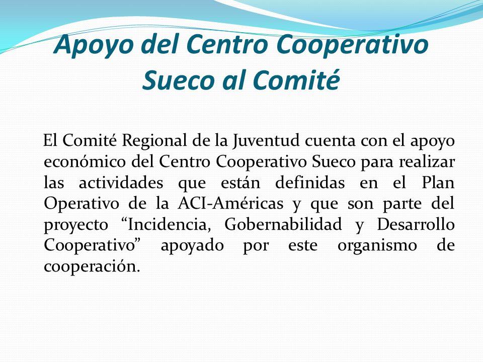 Apoyo del Centro Cooperativo Sueco al Comité