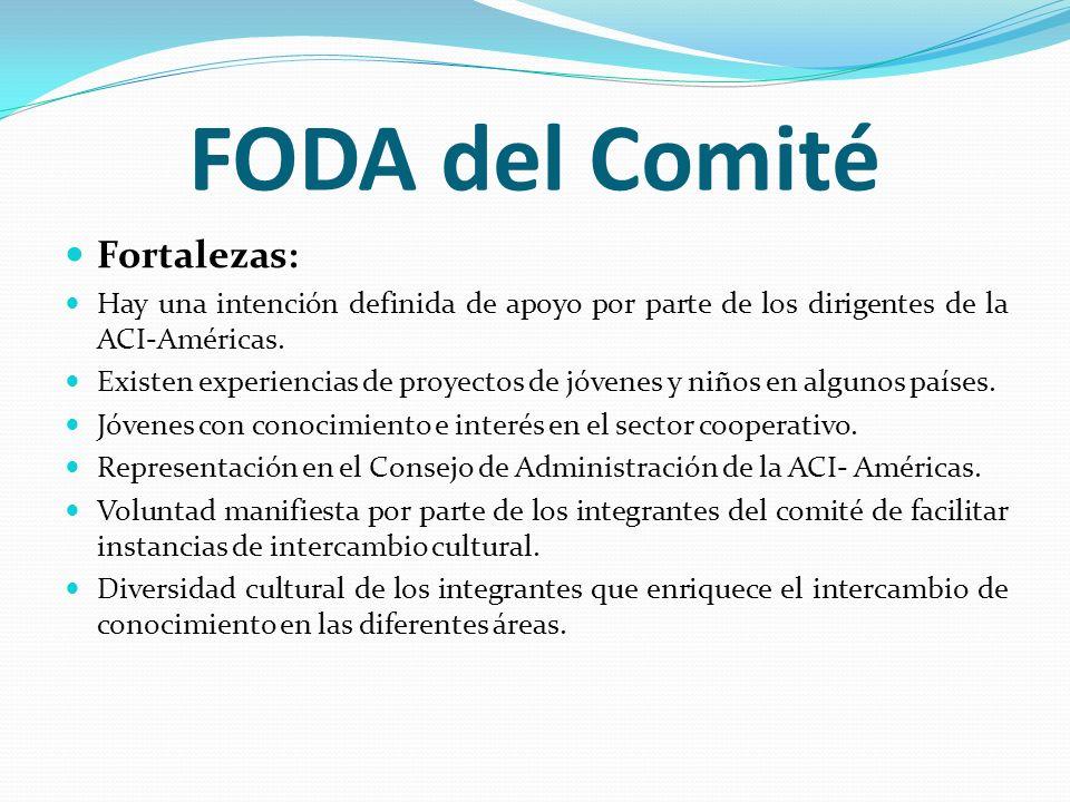 FODA del Comité Fortalezas: