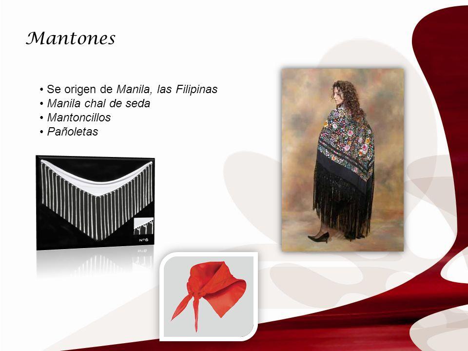 Mantones Se origen de Manila, las Filipinas Manila chal de seda