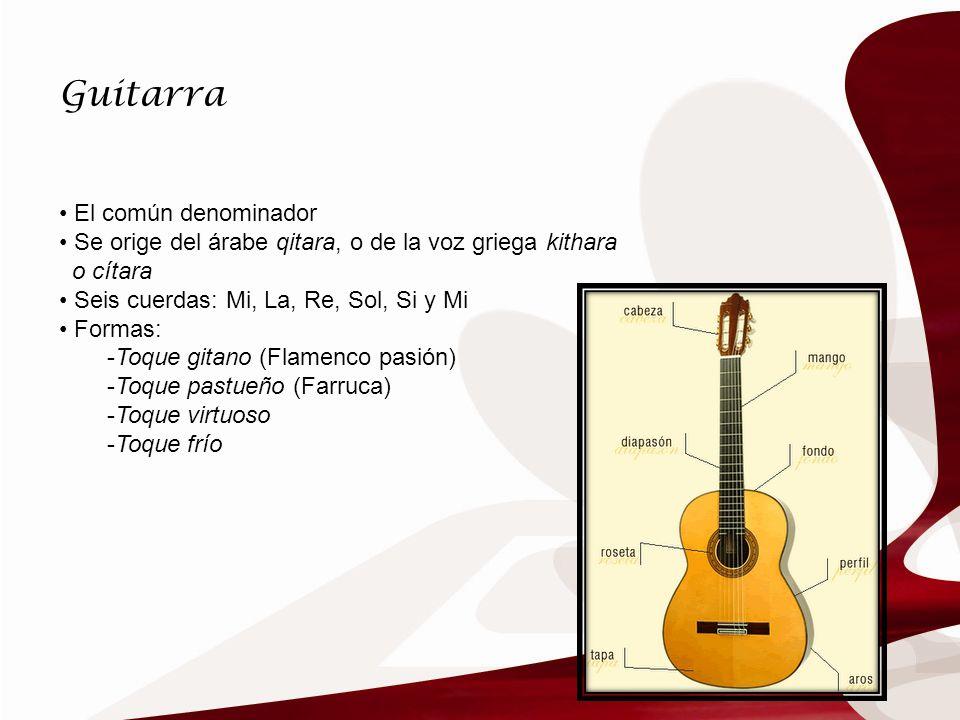 Guitarra El común denominador