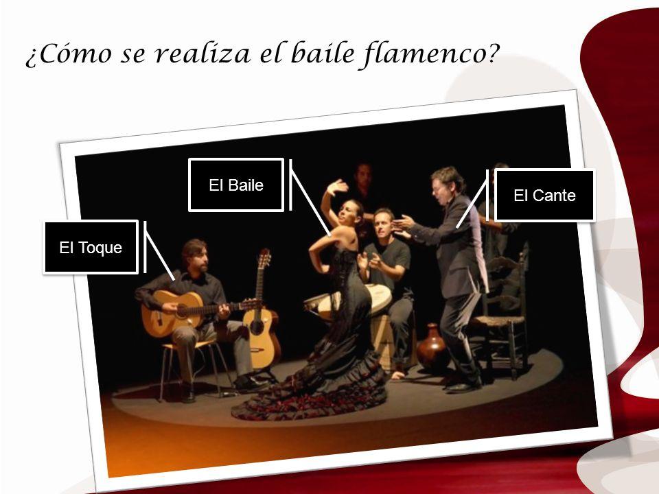 ¿Cómo se realiza el baile flamenco