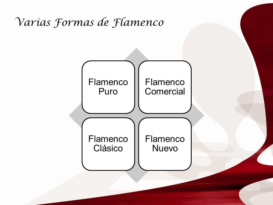 Varias Formas de Flamenco