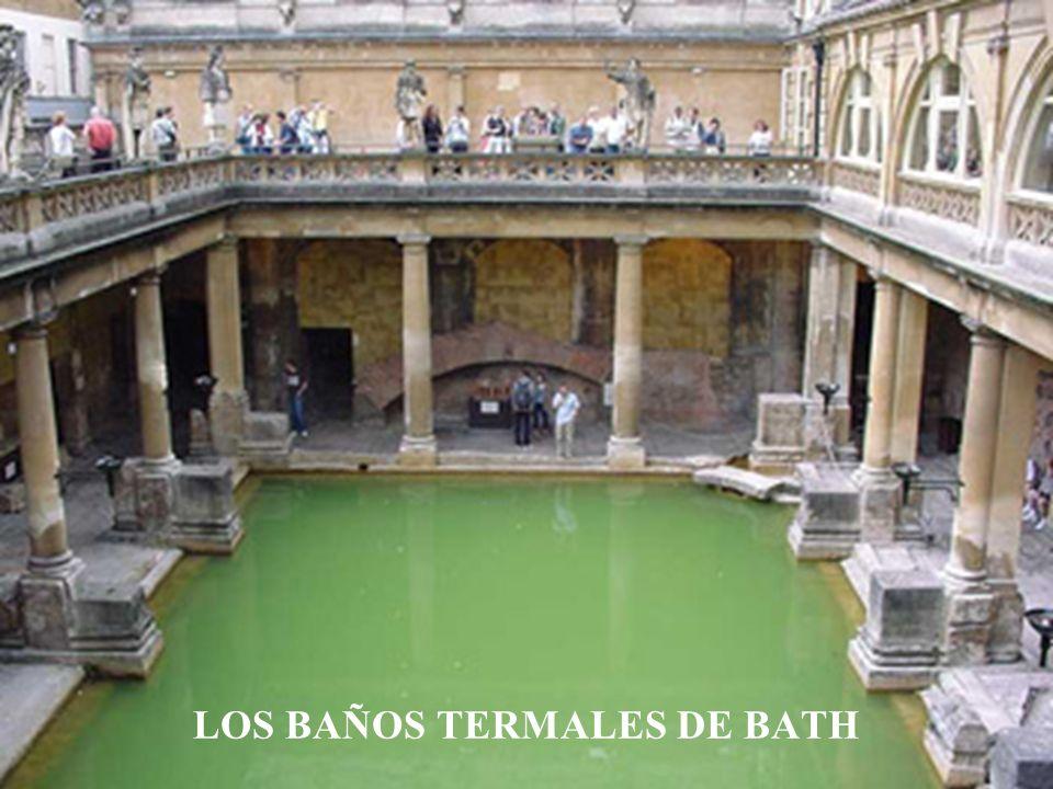 LOS BAÑOS TERMALES DE BATH