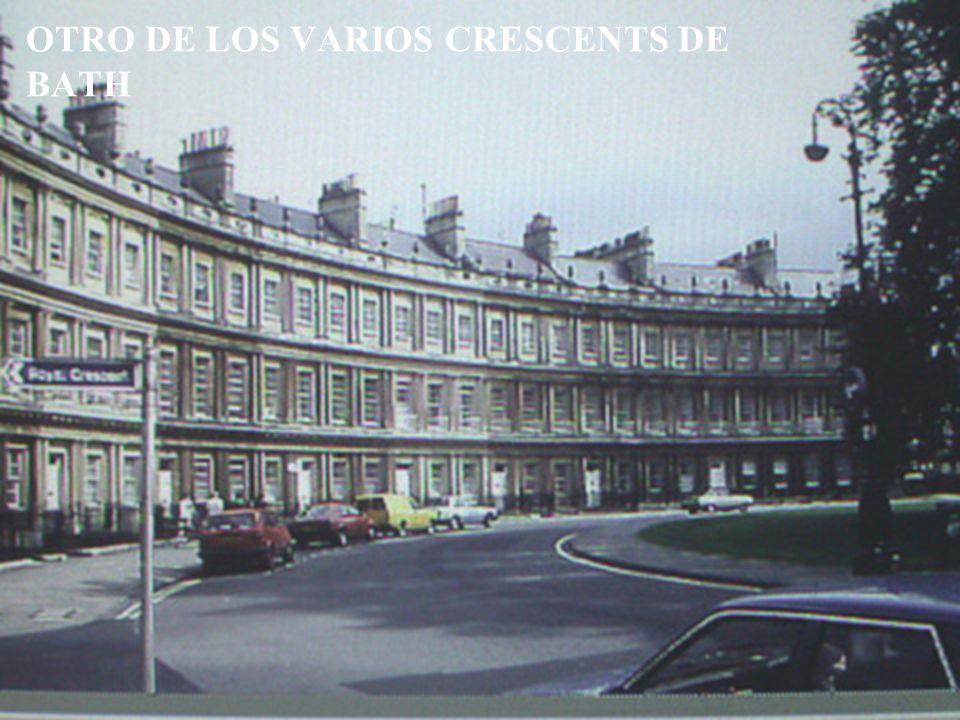 OTRO DE LOS VARIOS CRESCENTS DE BATH