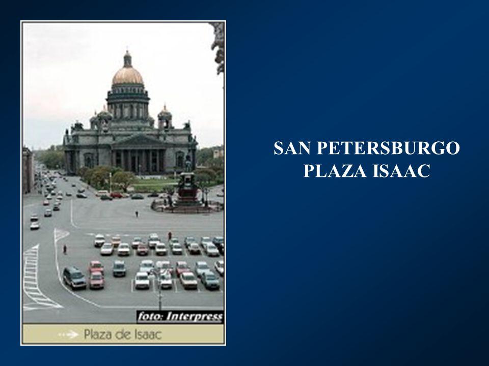 SAN PETERSBURGO PLAZA ISAAC