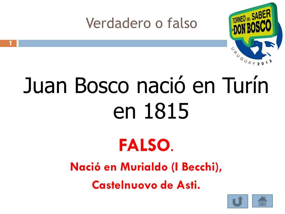 Nació en Murialdo (I Becchi),