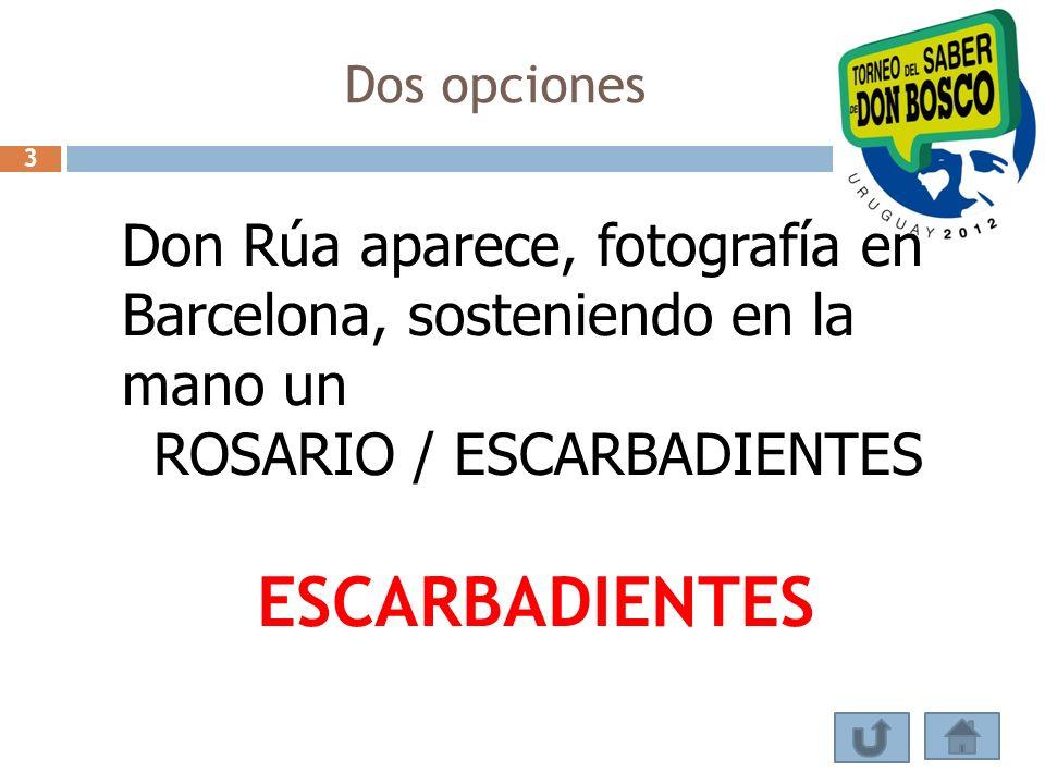 ROSARIO / ESCARBADIENTES