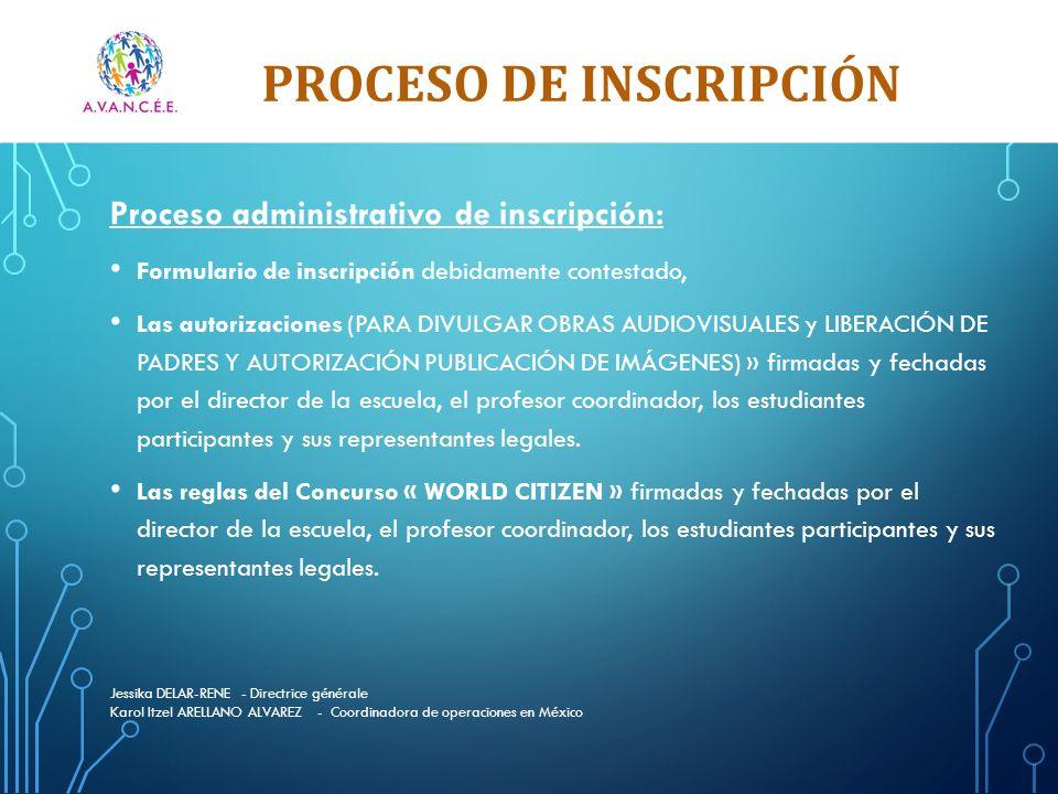 Proceso de Inscripción