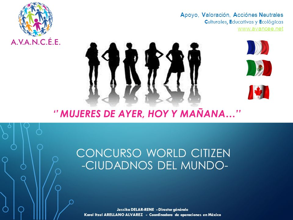 CONCURSO WORLD CITIZEN -CIUDADNOS DEL MUNDO-