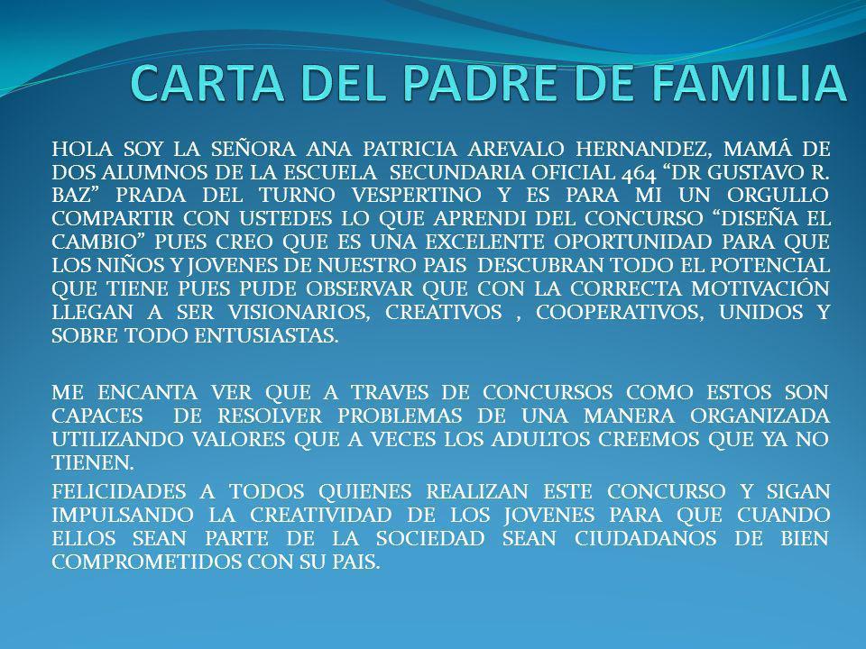 CARTA DEL PADRE DE FAMILIA