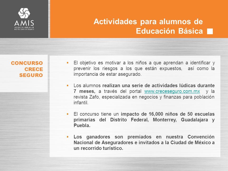 Actividades para alumnos de Educación Básica