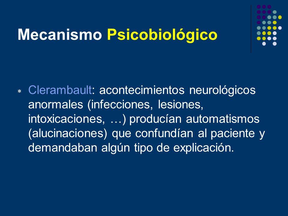 Mecanismo Psicobiológico