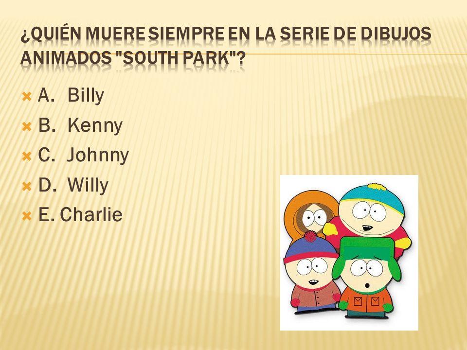 ¿Quién muere siempre en la serie de dibujos animados South Park