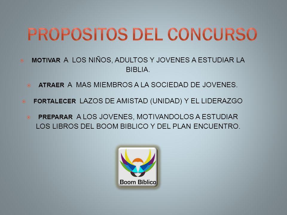 PROPOSITOS DEL CONCURSO