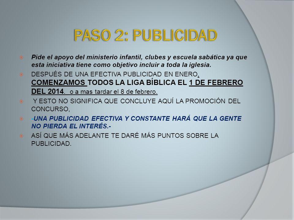PASO 2: PUBLICIDAD