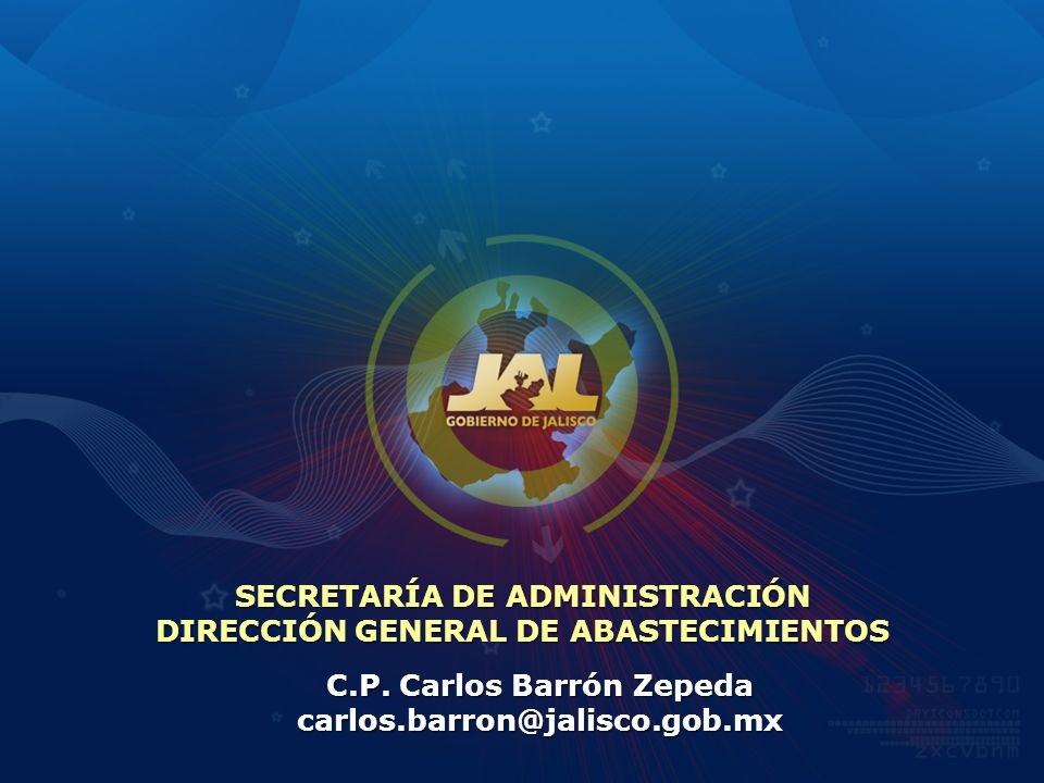 SECRETARÍA DE ADMINISTRACIÓN DIRECCIÓN GENERAL DE ABASTECIMIENTOS
