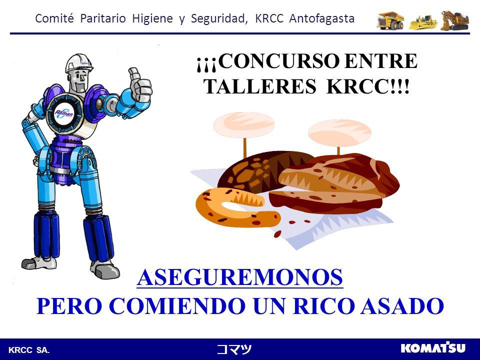 ¡¡¡CONCURSO ENTRE TALLERES KRCC!!! PERO COMIENDO UN RICO ASADO