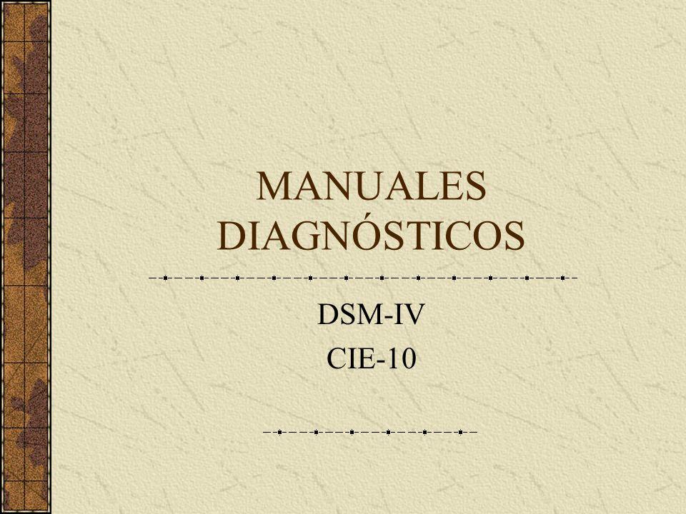 MANUALES DIAGNÓSTICOS