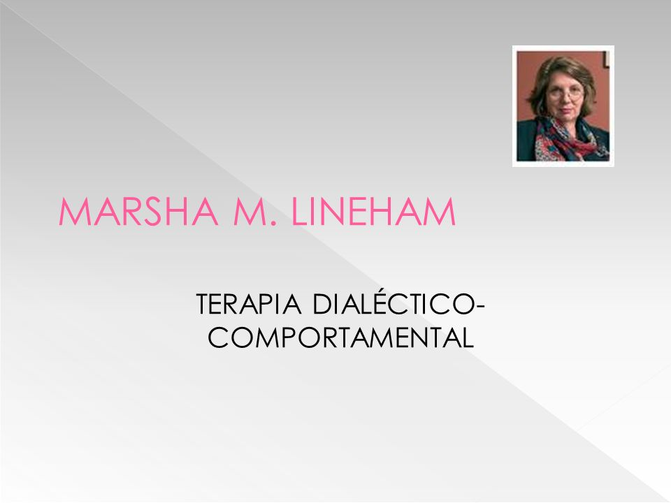 TERAPIA DIALÉCTICO-COMPORTAMENTAL