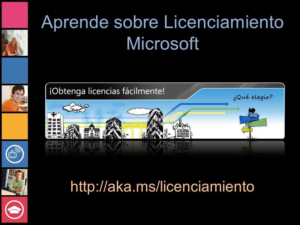 Aprende sobre Licenciamiento Microsoft