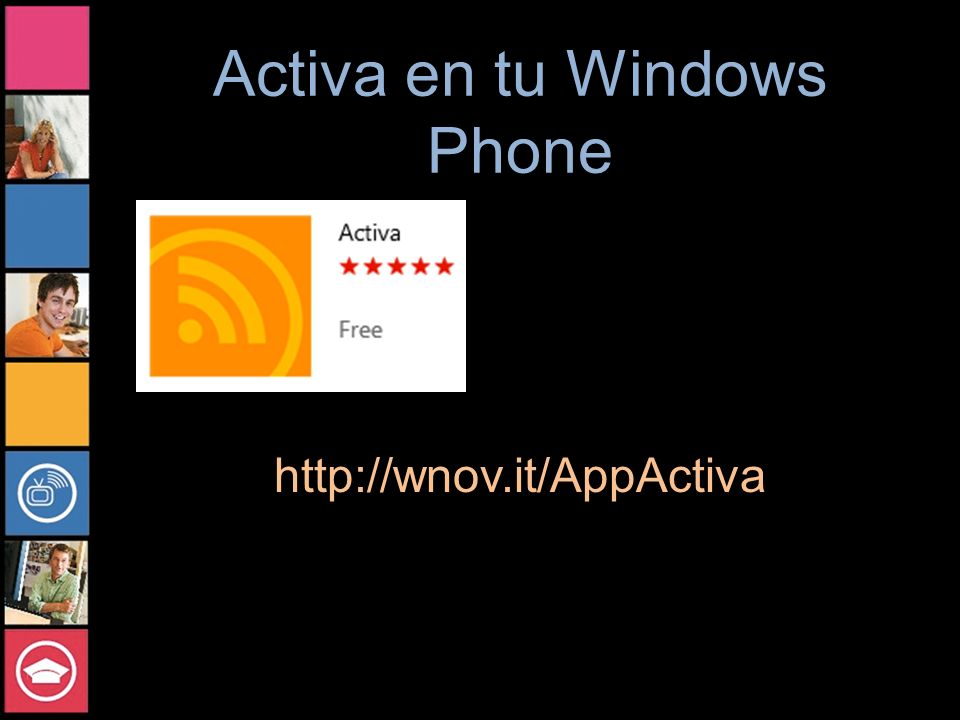 Activa en tu Windows Phone