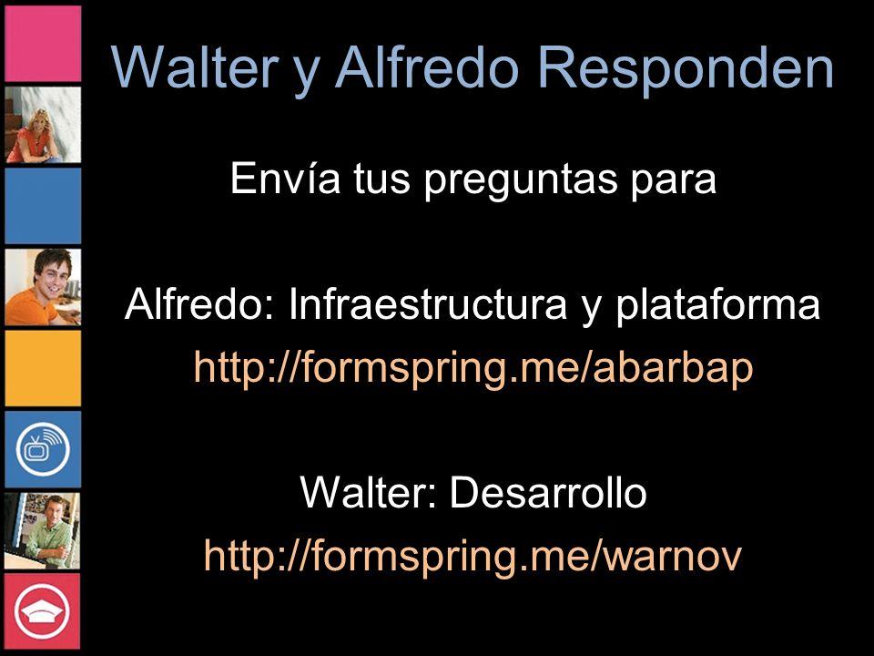 Walter y Alfredo Responden