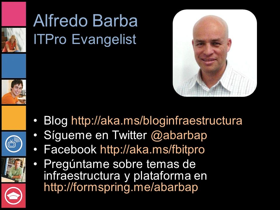 Alfredo Barba ITPro Evangelist