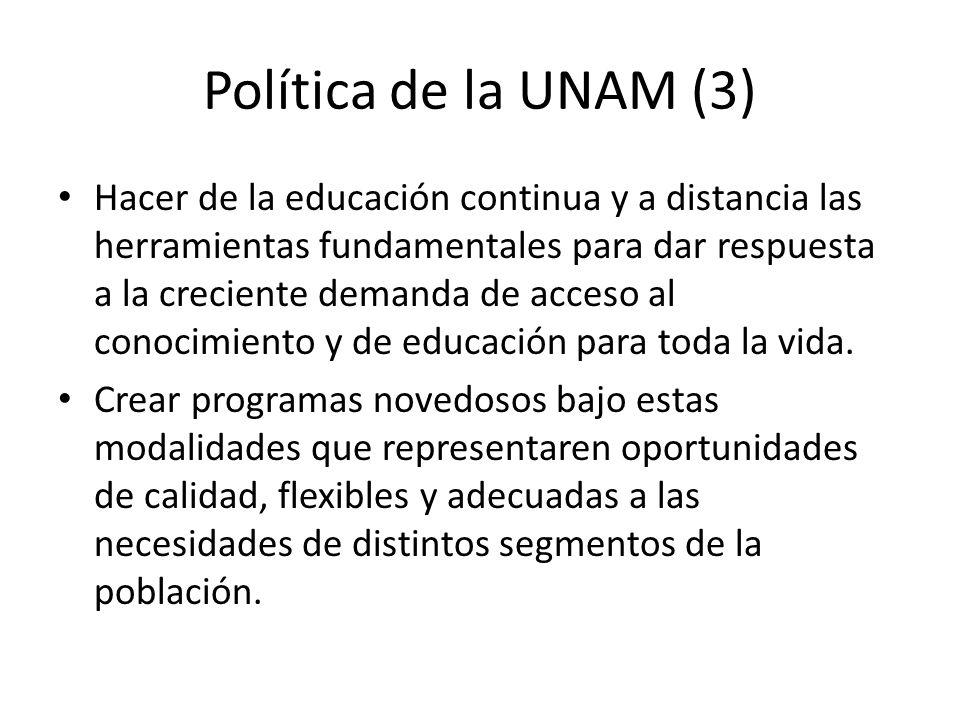 Política de la UNAM (3)