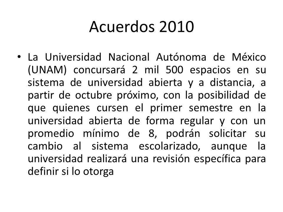 Acuerdos 2010