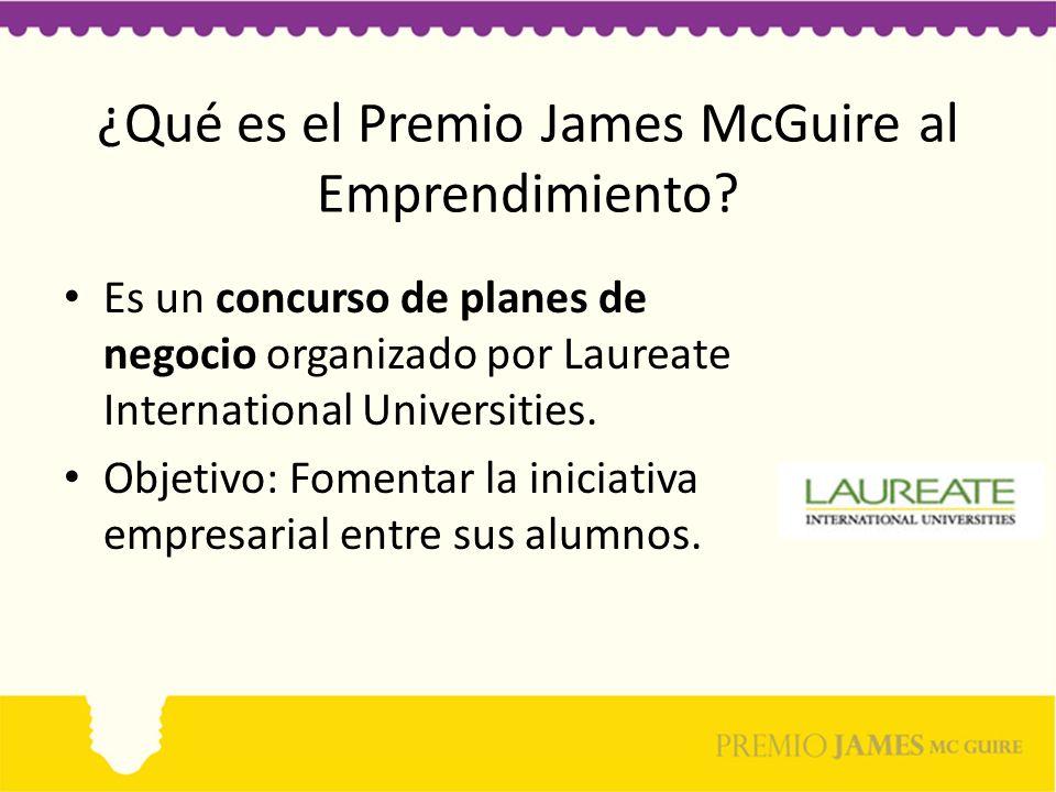 ¿Qué es el Premio James McGuire al Emprendimiento