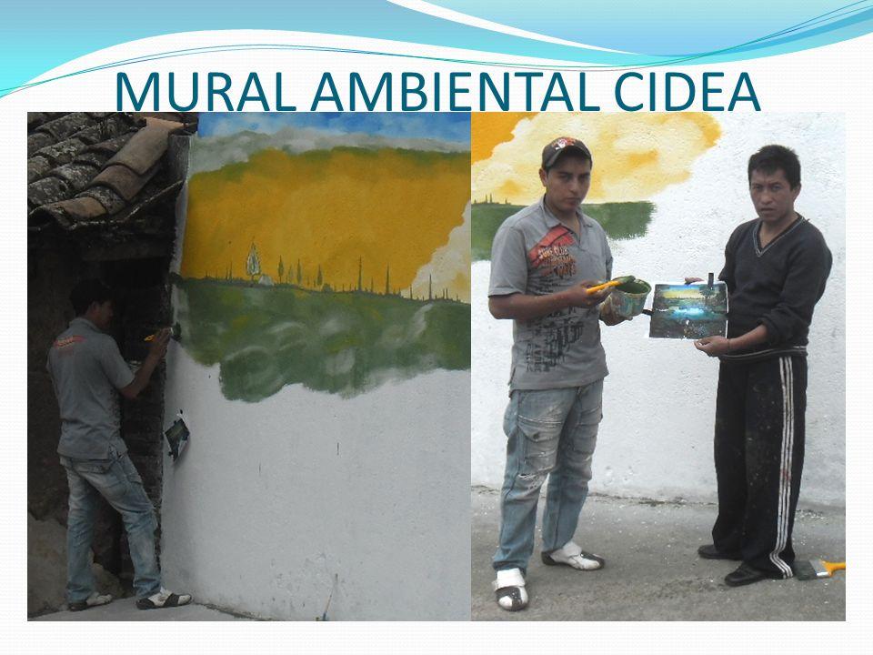 MURAL AMBIENTAL CIDEA