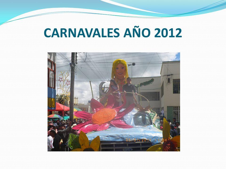 CARNAVALES AÑO 2012