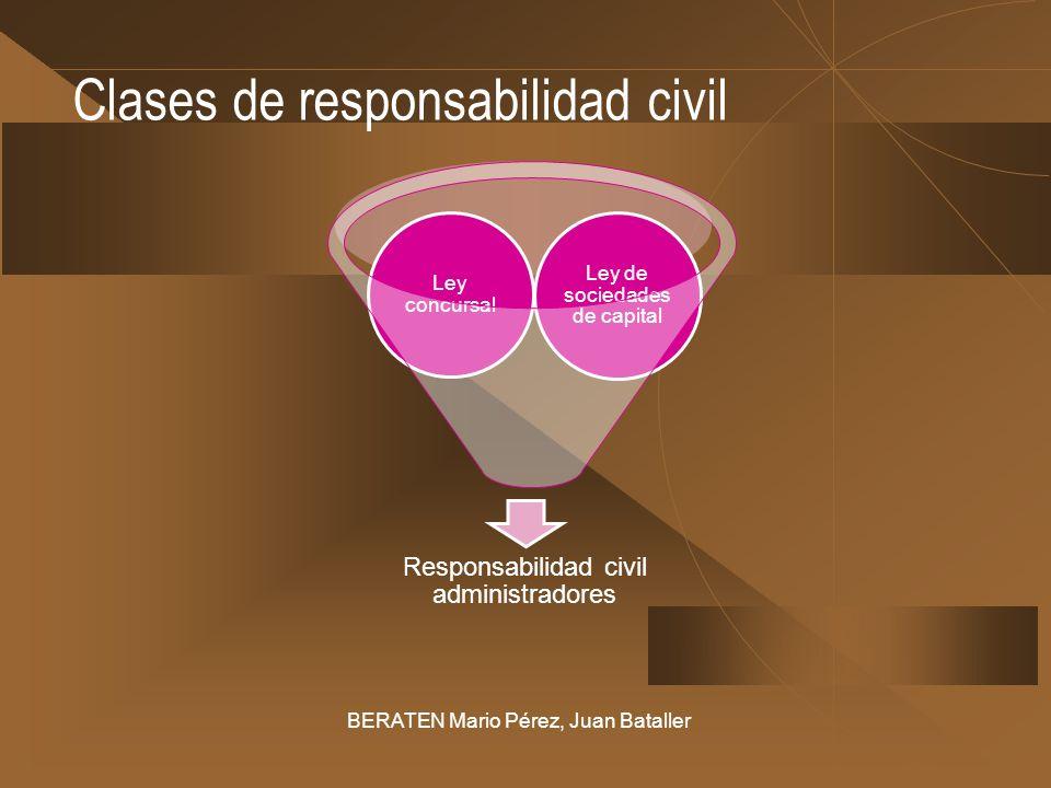 Clases de responsabilidad civil