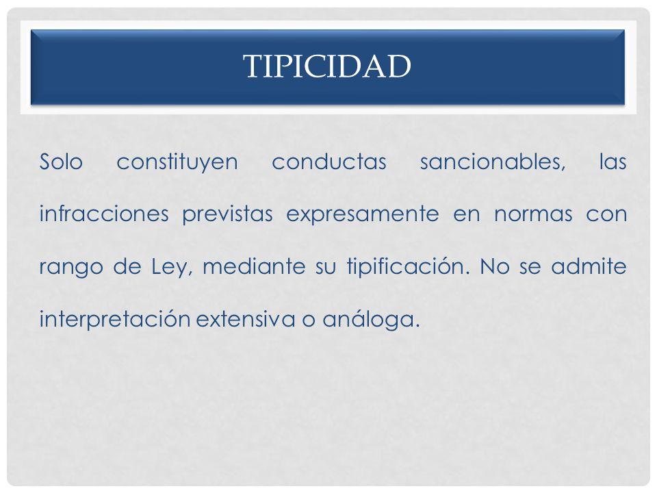 tipicidad
