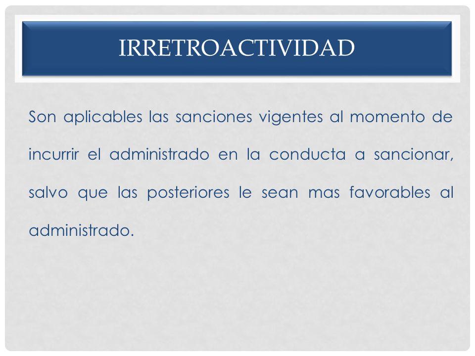 irretroactividad