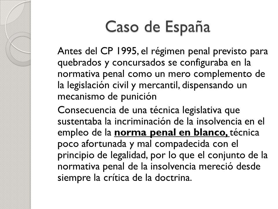 Caso de España