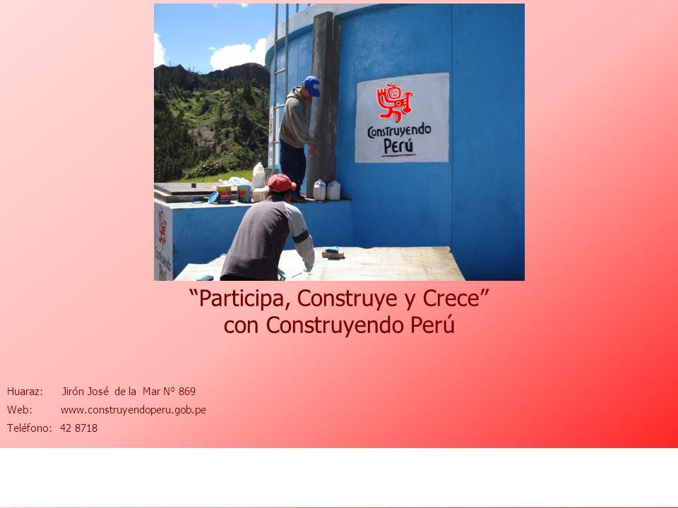 Participa, Construye y Crece con Construyendo Perú