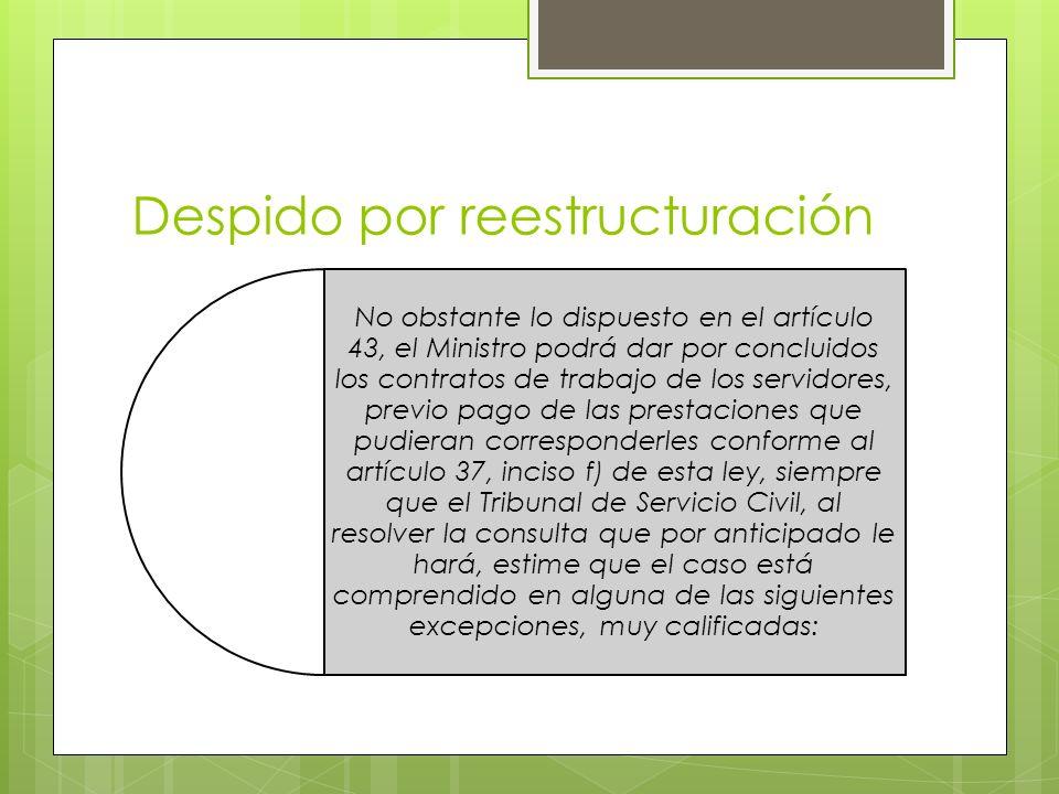 Despido por reestructuración