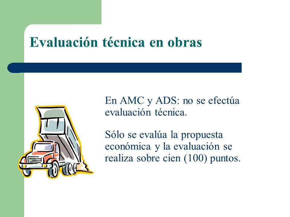 Evaluación técnica en obras