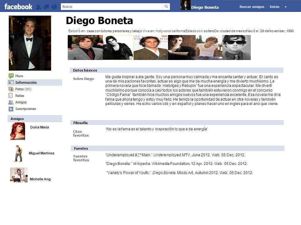 Diego Boneta Diego Boneta
