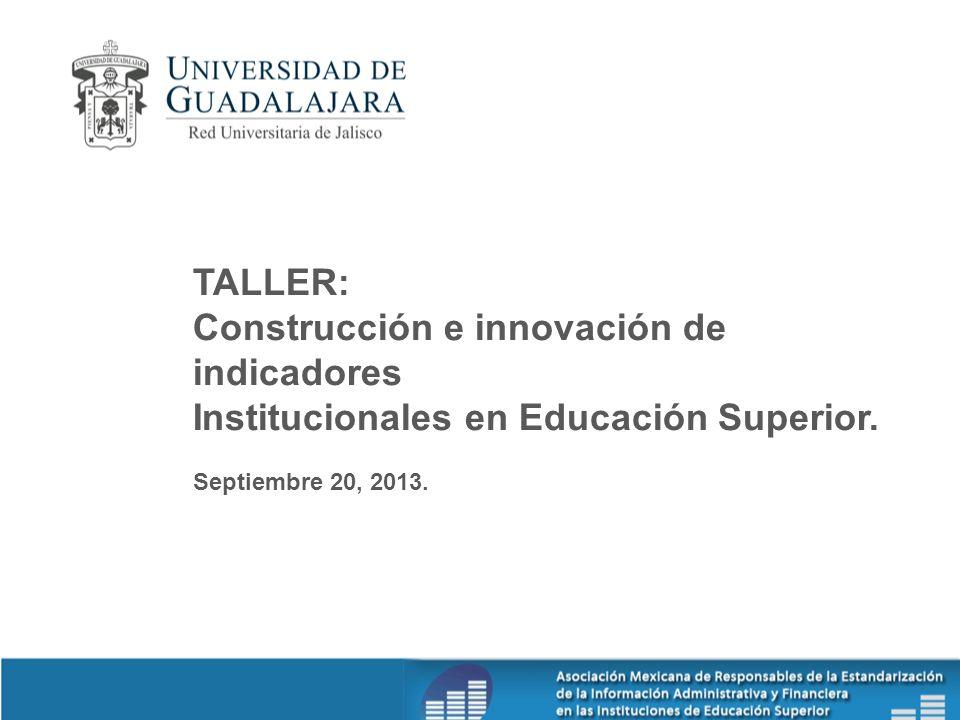 Construcción e innovación de indicadores